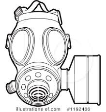 gas mask clipart 1192466 illustration by lal perera