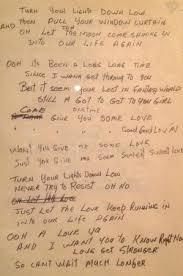 Turn On The Lights Lyrics Bob Marley U0027s Original Lyrics To