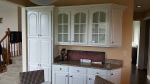 White Dove Kitchen Cabinets by Kammes Colorworks Inc St Charles Il Cabinet Refinishing And