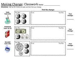 best 25 making change worksheets ideas on pinterest worksheets