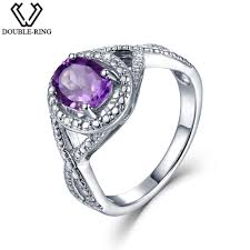 amethyst engagement ring custom by online get cheap purple diamond ring aliexpress com alibaba group