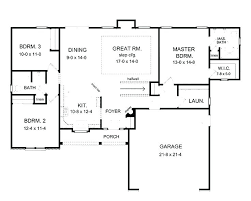 house floor plans with basement plans open floor plans one story