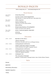 Undergraduate Resume Sample by Bus Driver Resume Samples Visualcv Resume Samples Database