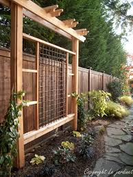 Fence Ideas For Patio 270 Best Fence U0026 Railings Images On Pinterest Landscaping Fence