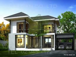 Modern Contemporary Floor Plans by Modern 2 Story House Plans Modern Contemporary House Design