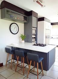 white shaker kitchen cabinets with gray quartz countertops botha modern shaker kitchen modern home in pretoria gauteng
