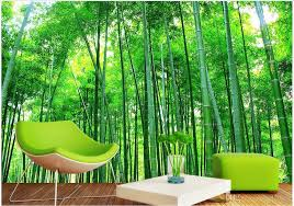 3d room wallpaper landscape custom photo mural bamboo scenery home