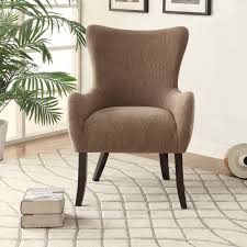 fancy neutral accent chair in mid century modern chair with
