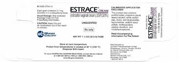 estrace cream rx only estradiol vaginal cream usp 0 01