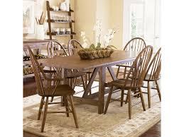 liberty furniture farmhouse trestle table novello home liberty furniture farmhouse trestle table novello home furnishings dining room table