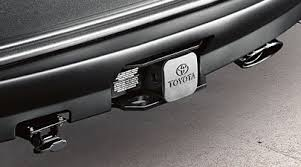 toyota highlander towing amazon com genuine 2011 2013 toyota highlander hybrid tow hitch