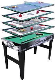 4 in one game table md sports 54806 48 12 in 1 multi game table sears outlet