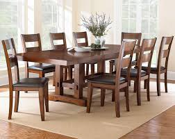 Prime Brothers Furniture by Dining Sets For 8 Or More Distressed Reclaimed Look Black 6 Piece