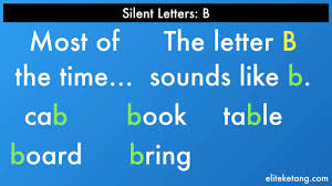 Silent Letters Worksheets Phonics Words With A Silent B Youtube