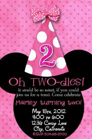 minnie mouse custom birthday invitations stephenanuno