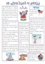 english teaching worksheets the usa