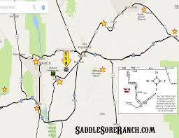 Kingman Arizona Map by Saddle Sore Ranch U2013 Mohave County Music Harvest