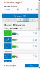 doodle poll uk 4 apps that will revolutionise how you schedule meetings and