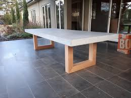 concrete and wood outdoor table epic outdoor concrete table f46 on stylish home design ideas with