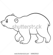 black outline drawing grey mouse stock vector 325117388