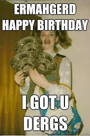 Zombie Birthday Meme - top hilarious unique birthday memes to wish friends relatives