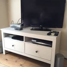 hemnes tv bench used ikea hemnes tv stand two drawers rrp 150 in sw2 london for