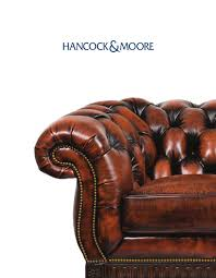 Hancock And Moore Leather Chair Prices Hancock And Moore By Cadieux U0026 Company Issuu