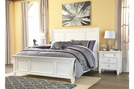 Prentice Queen Panel Bed Ashley Furniture HomeStore - Ashley furniture homestore bedroom sets