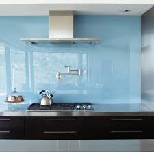 glass kitchen backsplash ideas blue glass modern kitchen backsplash ideas decor trends modern