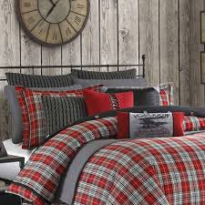 Cheap Twin Xl Comforters Williamsport Plaid Twin Xl Duvet Style Comforter Set And Bonus