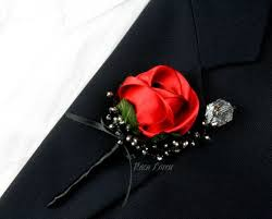 Red Rose Boutonniere The 25 Best Red Rose Boutonniere Ideas On Pinterest Red