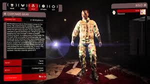 killing floor 2 beta character customization 720p60fps youtube