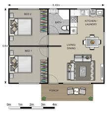 One Bedroom House Plan Amazing Grandma House Plans 6 Modulargrannyflat2 Bedroom 57 Sqm