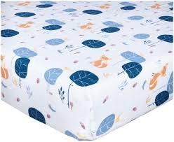 Crib Mattress Fitted Sheet Brand New Baby Crib Cot Bed Fitted Sheet 100 Cotton Boy