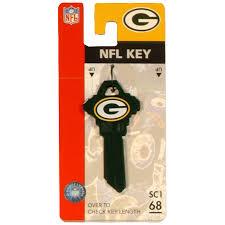 shop fanatix 68 green bay packers wackey nfl key at lowes com