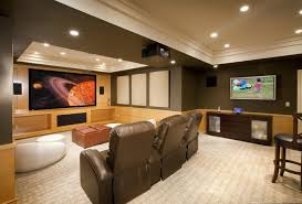 Home Theatre Interior Design Pictures by Remarkable Interior Design For Basement Home Theater Unique Home