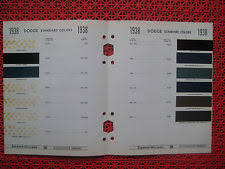 paint colour chart ebay