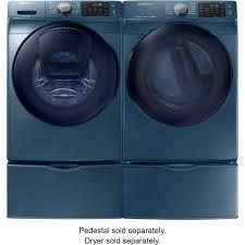 Front Load Washer With Pedestal Wf45k6200az 4 5 Cu Ft High Efficiency Front Load Washer With