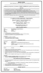 sle resumes for banking resume for fresher management student perfect resume format