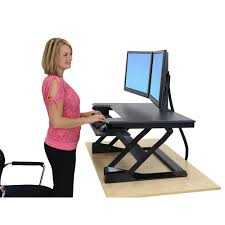 Stand Sit Desk by Ergonomic Standing Desks Sit Stand Workstations Ergonomic