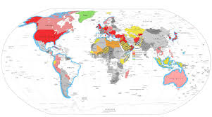 Global Map Of The World by 3 Ring Binder Map Usa World Maps The Worlds Population Mapped As