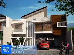 desain rumah minimalis modern renovasi123 com