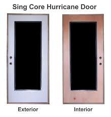 Hurricane Exterior Doors Hurricane Weather Waterproof Doors Lightweight High