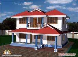 house plan double story home march kerala design and floor plans