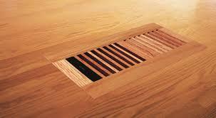 venice wooden 4 x10 white oak wood vent floor register flush