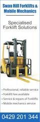 Forklift Mechanic Swan Hill Forklifts U0026 Mobile Mechanics Forklifts U0026 Forklift