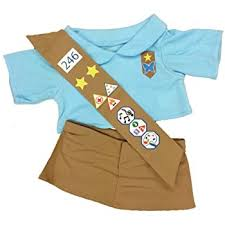 build a boy clothes girl scout green teddy clothes fits