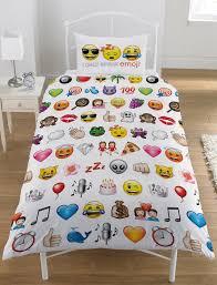 Single Duvet Cover Sets Wholesale Bulk Emoji Icon Generic Duvet Cover Value Character