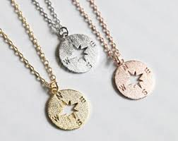 necklace etsy images Compass necklace etsy jpg