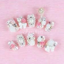 princess caviar 3d nail art kit handmade japanese 3d nail art